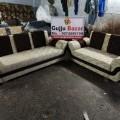 3 + 2 sofa set brown