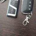 Central locking system or flip key