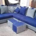 Puffy corner sofa in Shahibag