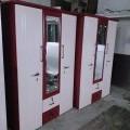 3door almirah powder coating